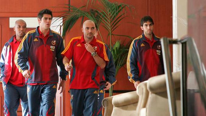 Oleguer Presas portó una vez el chándal de la Selección
