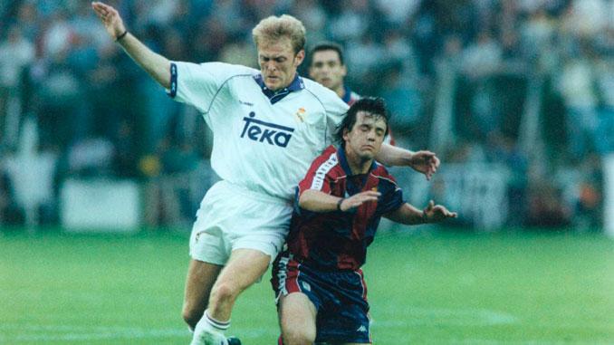 Prosinecki recaló en las filas del Real Madrid en el verano de 1991