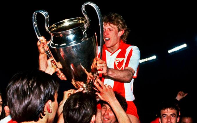 Prosinecki ganó la Copa de Europa de 1991 con el Estrella Roja