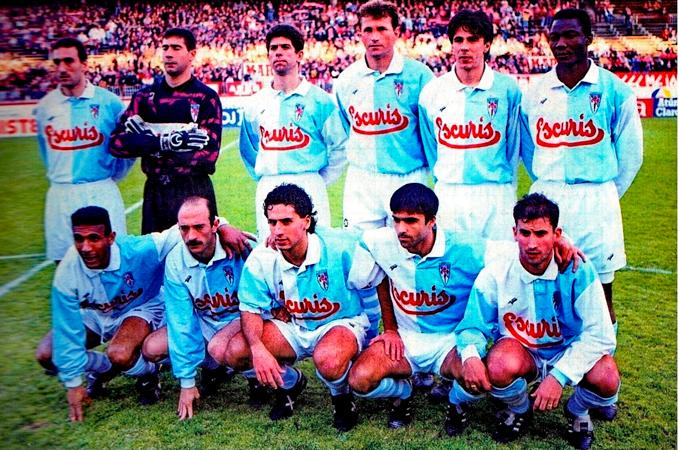 Nacho jugó con el Compostela en Primera - Odio Eterno Al Fútbol Moderno