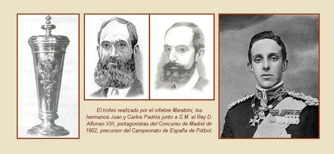 Los hermanos Padrós fueron los grandes impulsores de la Copa de la Coronación - Odio Eterno Al Fútbol Moderno