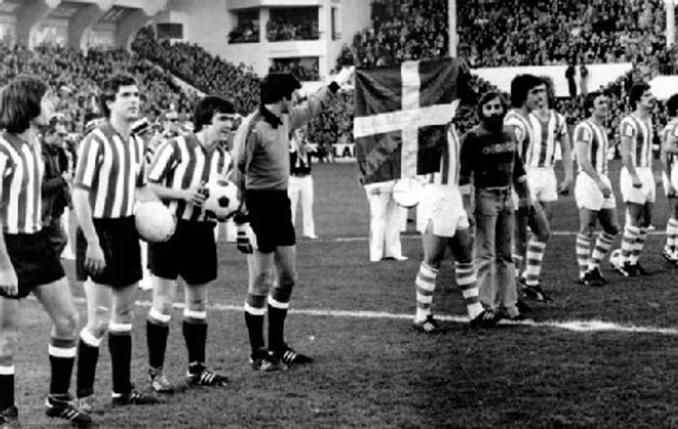 El derbi vasco de 1976 se recuerda por el gesto de ambas plantillas - Odio Eterno Al Fútbol Moderno