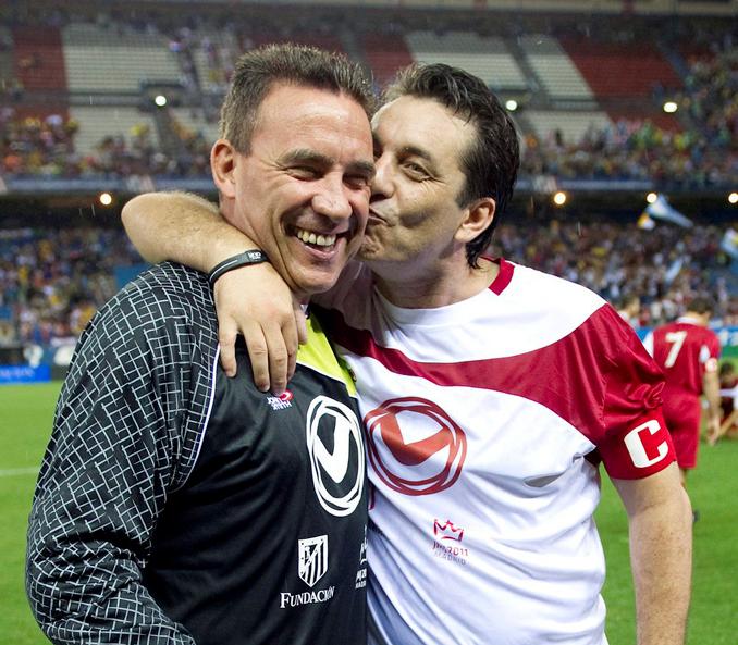Paco Buyo y Paulo Futre, amigos para siempre