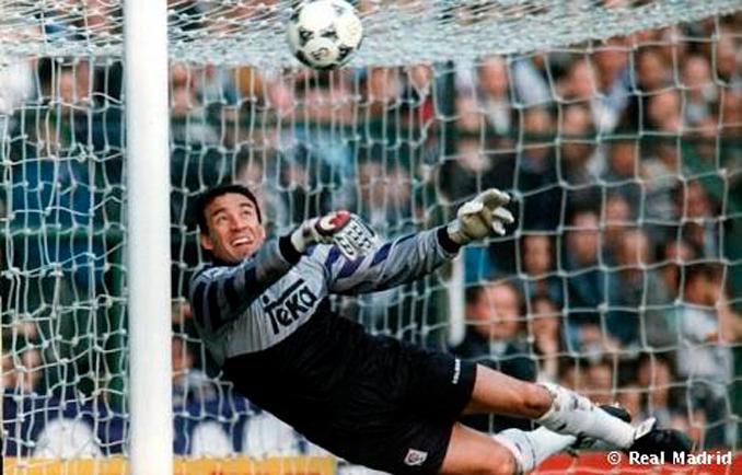 Paco Buyo, un portero legendario del Real Madrid