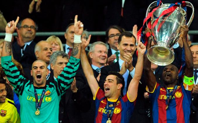En 2009 y 2011 el Barça ganó al Manchester United en la final de la Champions - Odio Eterno Al Fútbol Moderno