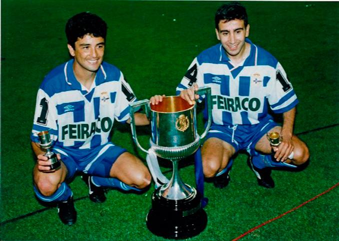 La Copa de 1995 fue el primer título del Super Depor - Odio Eterno Al Fútbol Moderno