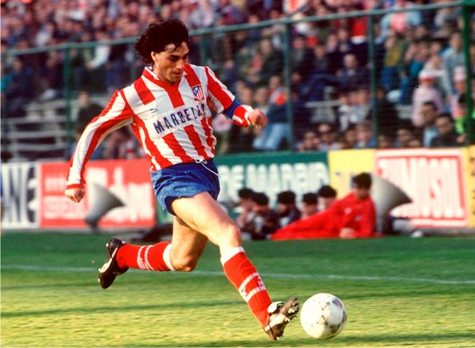 Paulo Futre era el ídolo colchonero a finales de los 80