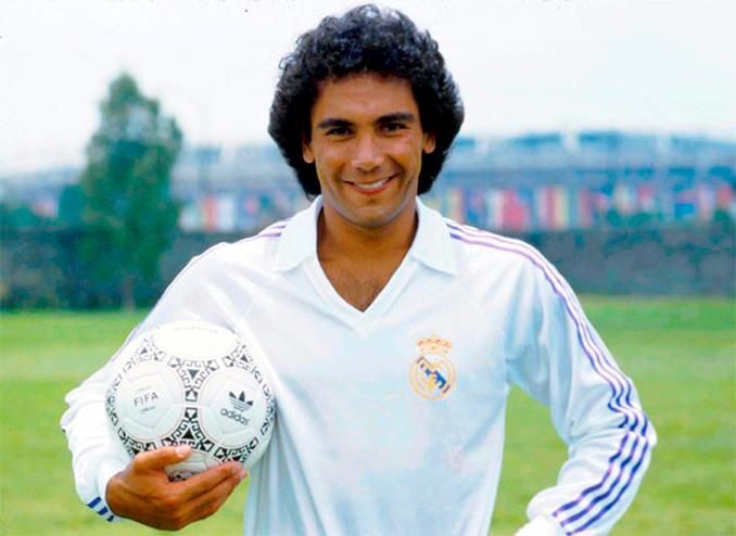 """Hugo Sánchez llegó a la """"casa blanca"""" en 1985"""