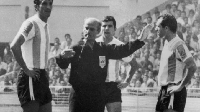 Kreitlein expulsó a Rattín alegando un insulto