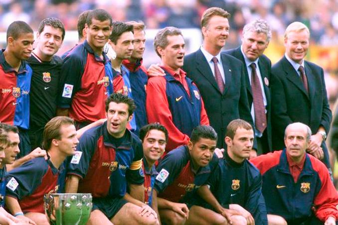 El Barça de Van Gaal ganó dos Ligas consecutivas - Odio Eterno Al Fútbol Moderno