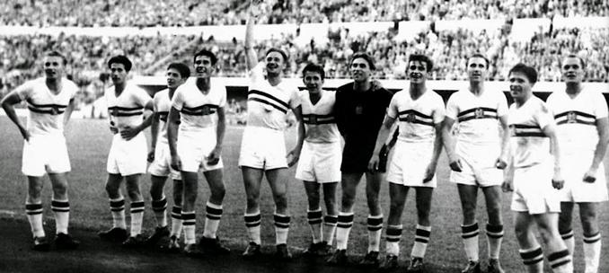 Hungría maravilló en la década de 1950