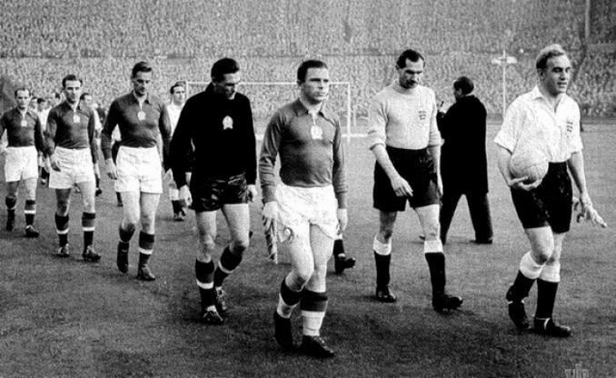 Hungría fue el primer equipo que venció en suelo inglés