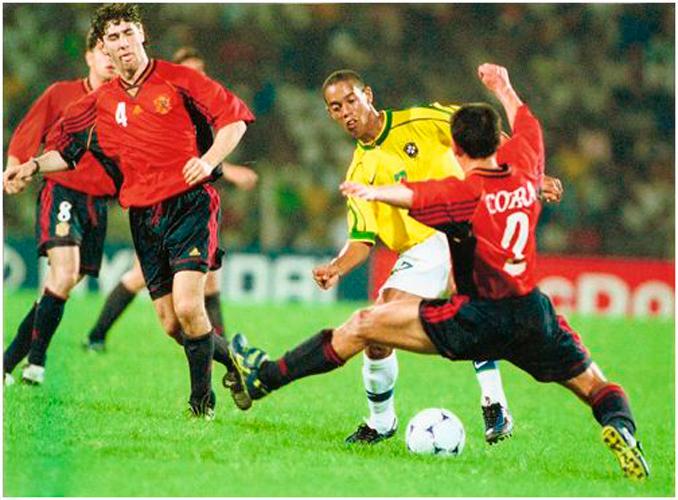 La Brasil de Ronaldinho fue el primer rival en aquel Mundial sub-20 de 1999