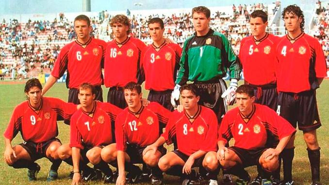 La Selección española conquistó el Mundial sub-20 de 1999 - Odio Eterno Al Fútbol Moderno