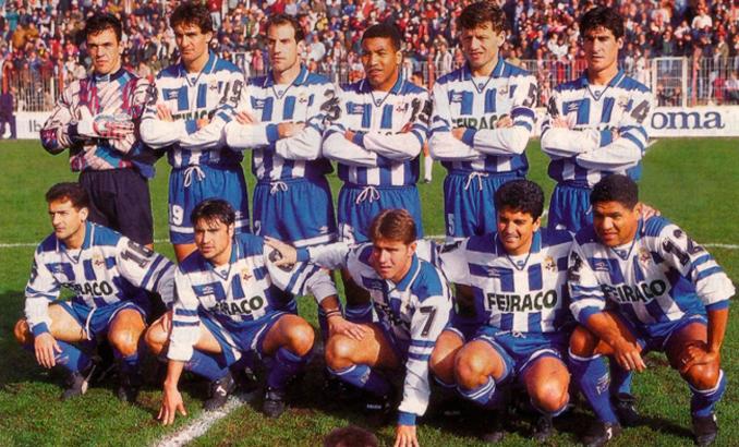 El Super Depor también alzó la Supercopa de España en 1995 - Odio Eterno Al Fútbol Moderno