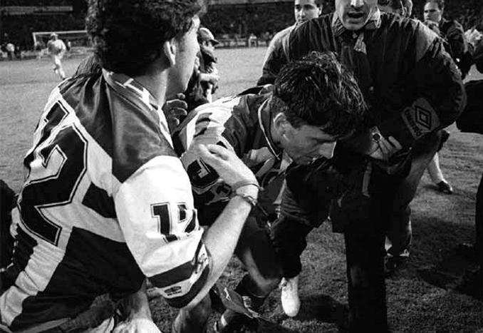 Djukic protagonizó el momento más triste para el Super Depor - Odio Eterno Al Fútbol Moderno