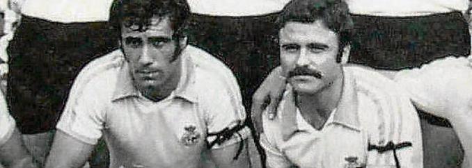 Aitor Aguirre y Sergio Manzanera decidieron lucir crespones negros aquella tarde