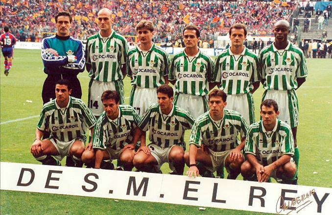 Aquel Betis estuvo a punto de ganar la Copa del Rey en 1997 - Odio Eterno Al Fútbol Moderno