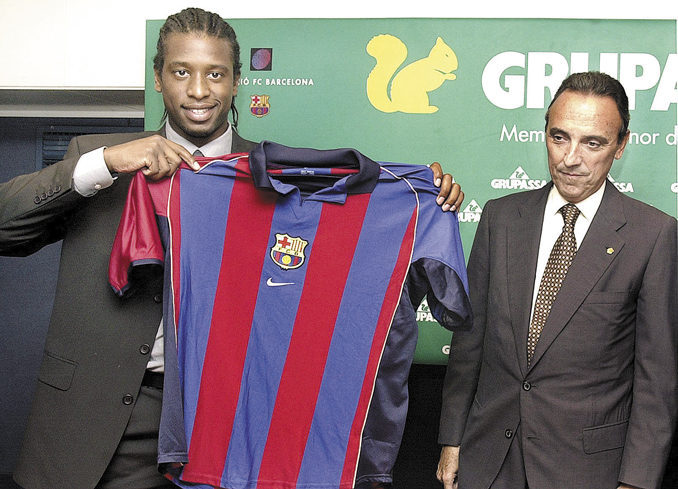 Christanval uno de los fichajes que nunca llegó a cuajar en Can Barça - Odio Eterno Al Fútbol Moderno