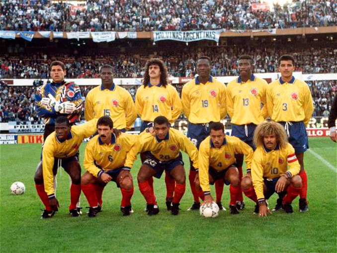 La selección colombiana practicó un fútbol exquisito - Odio Eterno Al Fútbol Moderno