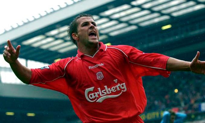 Michael Owen todo un ídolo de la afición del Liverpool - Odio Eterno Al Fútbol Moderno