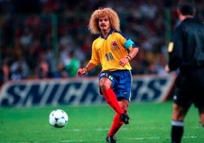 Valderrama era el capitán y líder de aquella selección colombiana - Odio Eterno Al Fútbol Moderno