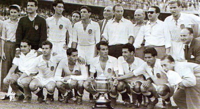 El Valencia ganó la final de Copa de 1954 - Odio Eterno Al Fútbol Moderno