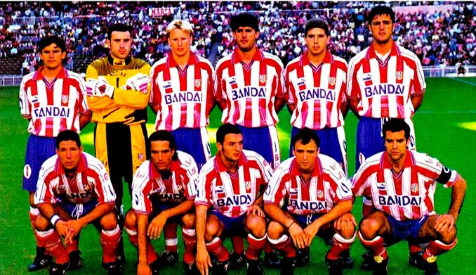 El Atleti no obtuvo los resultados esperados en la 96-97