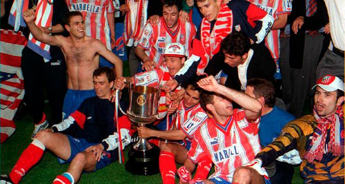 """El Atleti conquistó el """"Doblete"""" en 1996"""