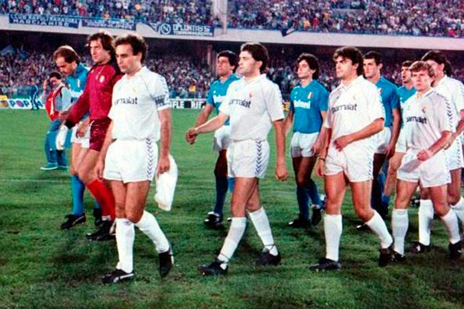 El Real Madrid fue capaz de doblegar al Nápoles de Maradona - Odio Eterno Al Fútbol Moderno