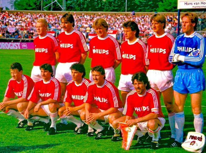 El PSV Eindhoven ganó 4 Eredivisie seguidas entre 1986 y 1989 - Odio Eterno Al Fútbol Moderno