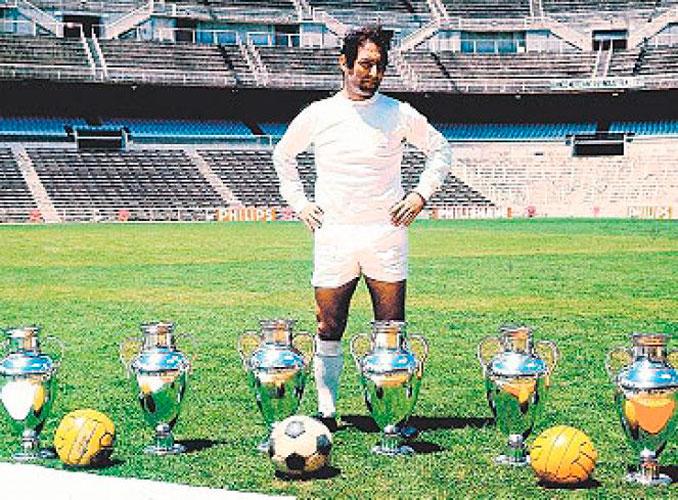 Paco Gento, el único futbolista con 6 Copas de Europa - Odio Eterno Al Fútbol Moderno