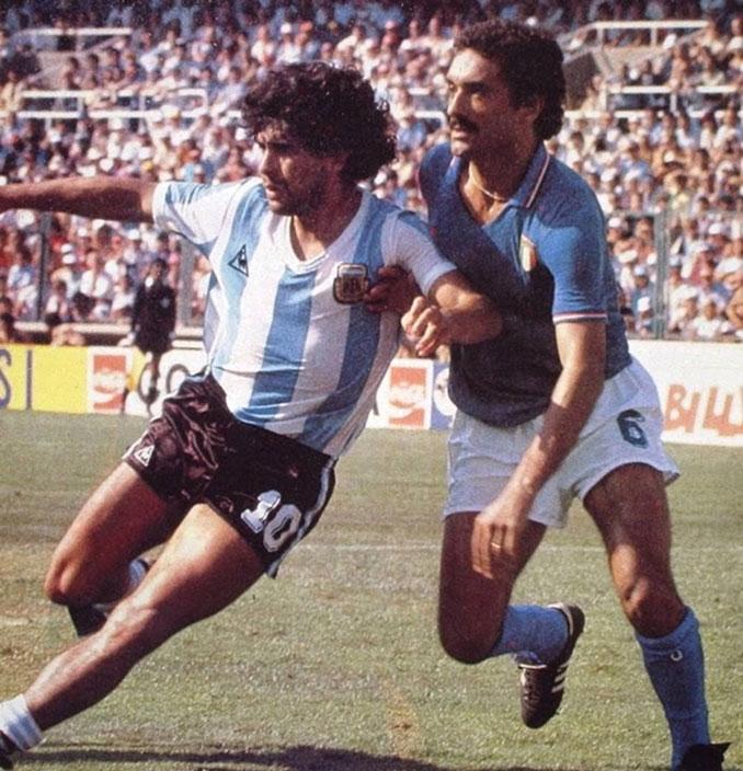 Este marcaje le valió a Gentile ser recordado como uno de los jugadores más duros - Odio Eterno Al Fútbol Moderno