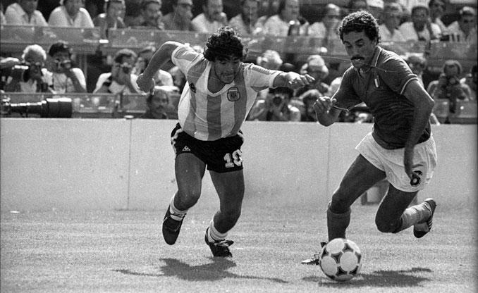 Gentile amargó la existencia a Maradona en el Mundial de 1982