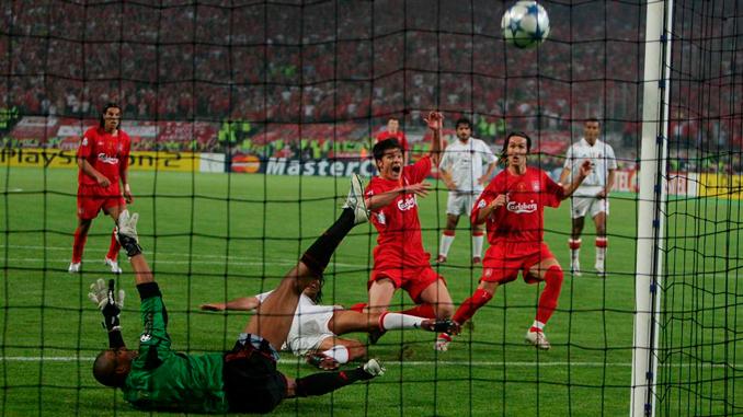 Xabi culminó el milagro de Estambul en el 60' - Odio Eterno Al Fútbol Moderno