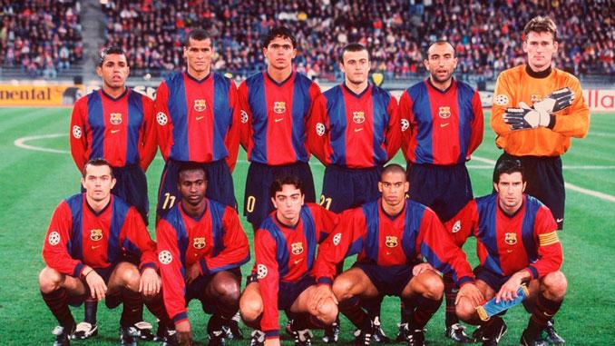 El Barça hizo doblete el año que Van Gaal tomó las riendas del equipo