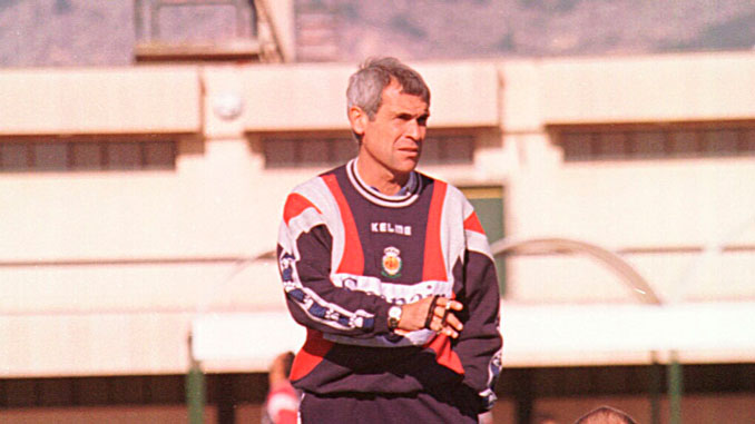 Héctor Cuper en su primera etapa en Palma