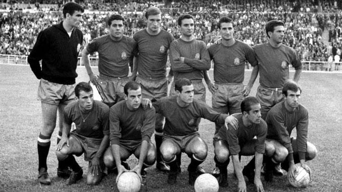 La Selección española de 1964 presentaba una plantilla de garantías