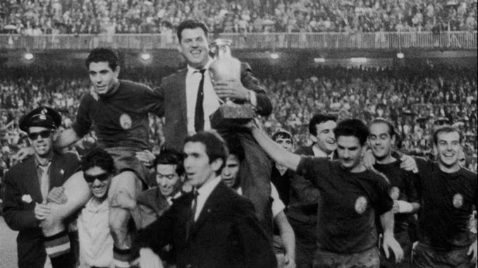 Esapaña conquistó la Eurocopa de 1964 con el legendario gol de Marcelino