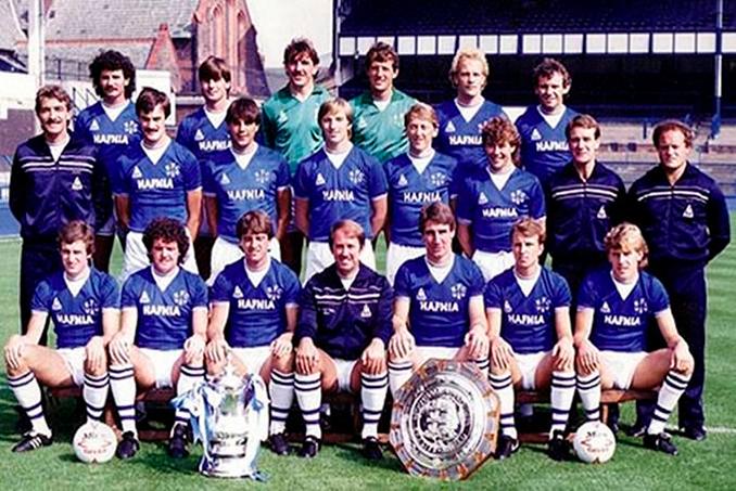 El Everton conquistó en la 86-87 la última de las 9 Ligas que figuran en su palmarés - Odio Eterno Al Fútbol Moderno