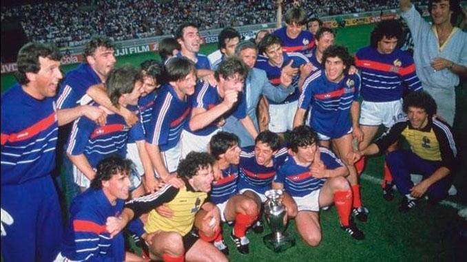 Selección de Francia en la Eurocopa de 1984