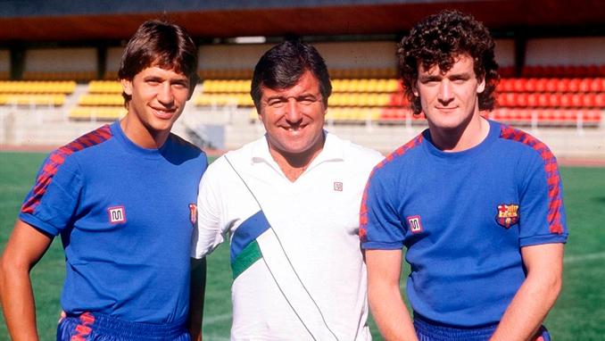 Gary Lineker y Mark Hughes llegaron al Barcelona en el verano del '86 - Odio Eterno Al Fútbol Moderno