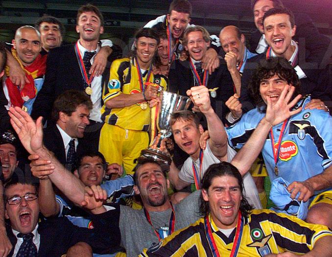 El Lazio fue el campeón de la última Recopa de la historia