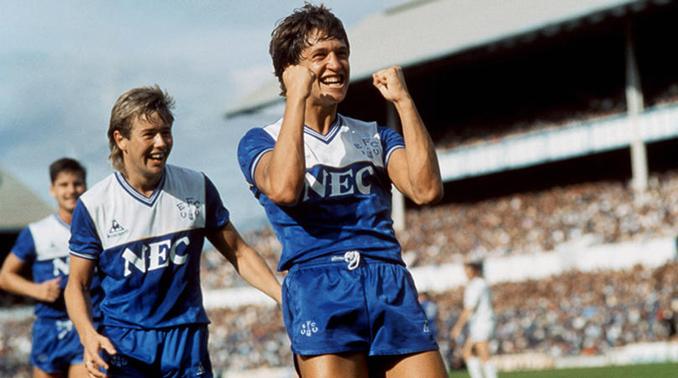 Gary Lineker jugó una temporada en el Everton - Odio Eterno Al Fútbol Moderno