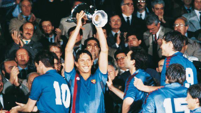 Gary Lineker ganó dos títulos durante su etapa en Can Barça - Odio Eterno Al Fútbol Moderno