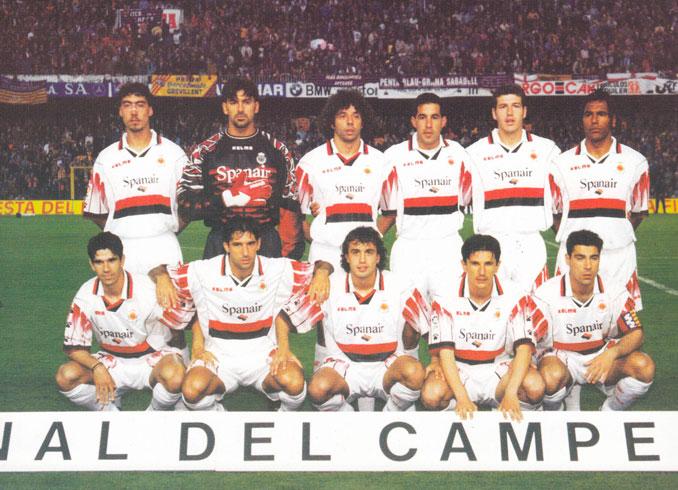 El Real Club Deportivo Mallorca alcanzó la final de Copa 97-98