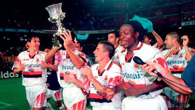 La Supercopa de 1999 fue el primer título en la historia del Real Club Deportivo Mallorca