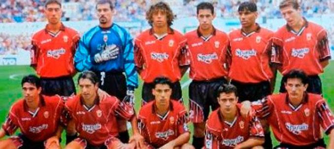 Plantilla del Real Club Deportivo Mallorca 97-98. La mejor de su historia