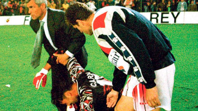 Carlos Roa estuvo a punto de ser el héroe en aquella final