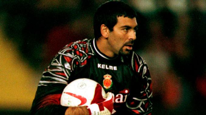 Carlos Ángel Roa fue el guardián de la meta del Mallorca durante 5 campañas
